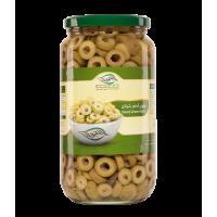 زيتون اخضر شرائح - 500 جرام
