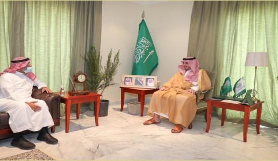 لقاء سمو الأمير فيصل بن نواف